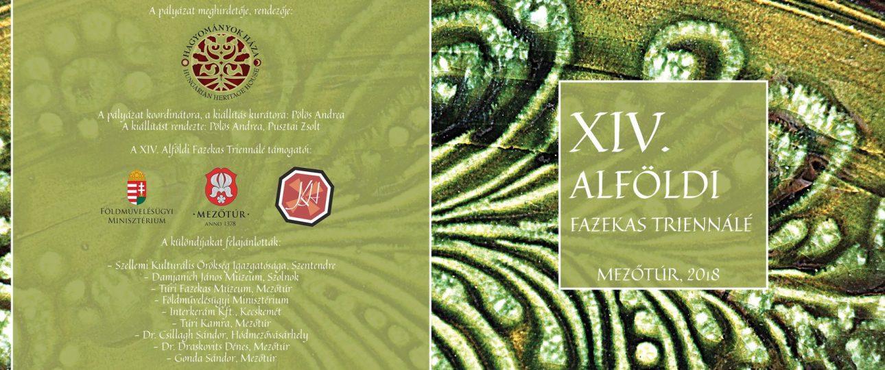 Szeretettel várunk mindenkit a XIV. Alföldi Fazekas Triennálé programjaira.