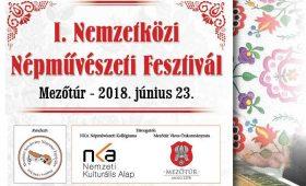 I. Nemzetközi Népművészeti Fesztivál