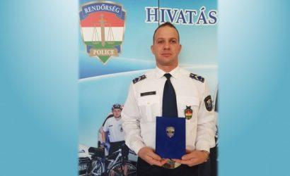 Horváth Gábor címzetes rendőr törzszászlós