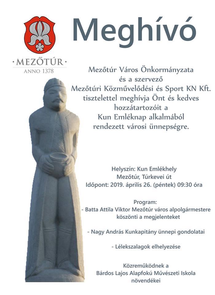 Kun Emléknap @ Mezőtúr, Kun Emlékhely | Mezőtúr | Magyarország