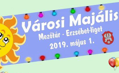 2019. május 1. - VÁROSI MAJÁLIS az Erzsébet- ligetben