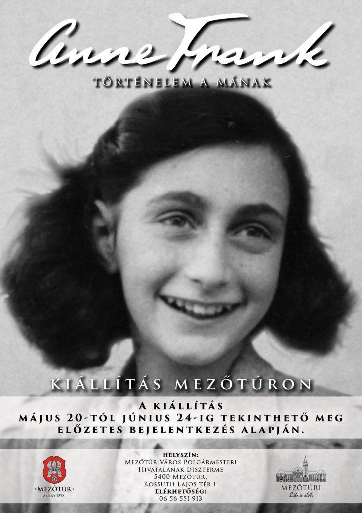 Anna Frank Kiállítás @ Mezőtúr Város Polgármesteri Hivatal - Díszterem | Mezőtúr | Magyarország