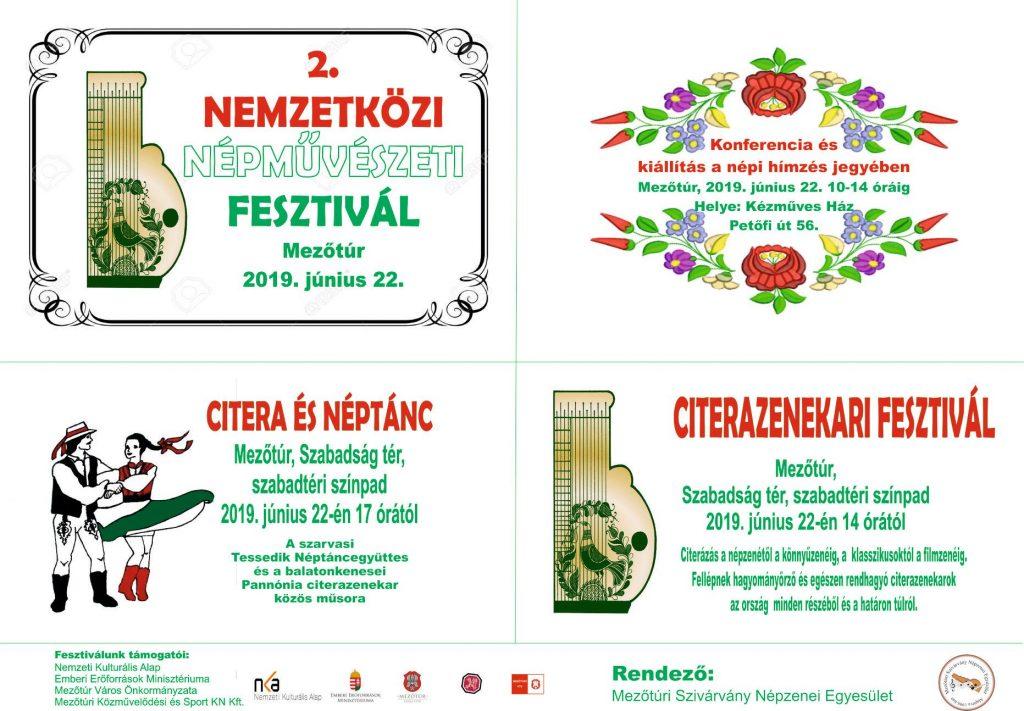 2. Nemzetközi Népművészeti Fesztivál @ Mezőtúr, Szabadság tér | Mezőtúr | Magyarország
