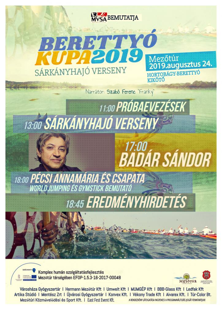 Berettyó Kupa 2019 @ Mezőtúr, Hortobágy-Berettyó Főcsatorna, Kikötő | Mezőtúr | Magyarország
