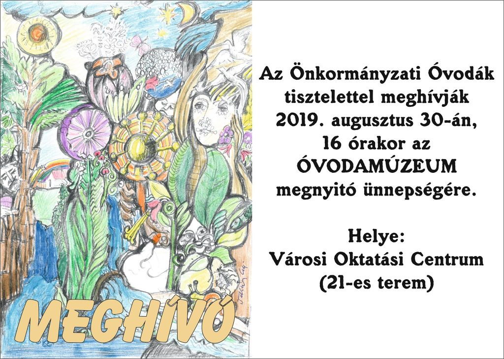 Óvodamúzeum megnyitó @ Mezőtúr, Városi Oktatási Centrum | Mezőtúr | Magyarország