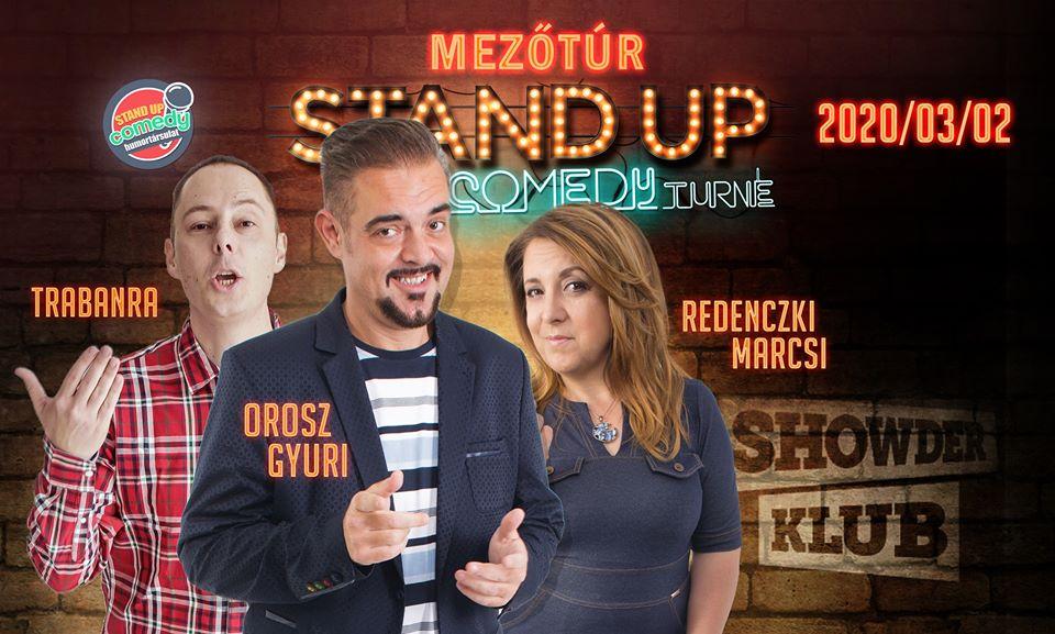 Országos Stand Up Comedy Turné - Mezőtúr @ Szabadság tér 17, Mezőtúr 5400 | Mezőtúr | Magyarország