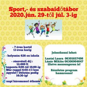 Sport, és szabadidőtábor @ Mezőtúr | Mezőtúr | Magyarország
