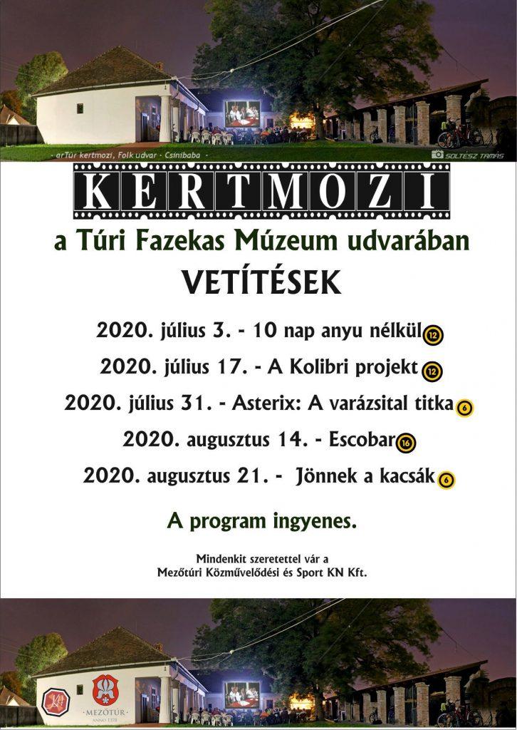 KERTMOZI - A kolibri projekt @ Túri Fazekas Múzeum udvara | Mezőtúr | Magyarország