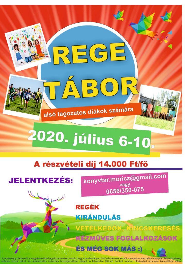 REGE TÁBOR idén is! 🙂 @ Mezőtúri Művelődési Ház | Mezőtúr | Magyarország