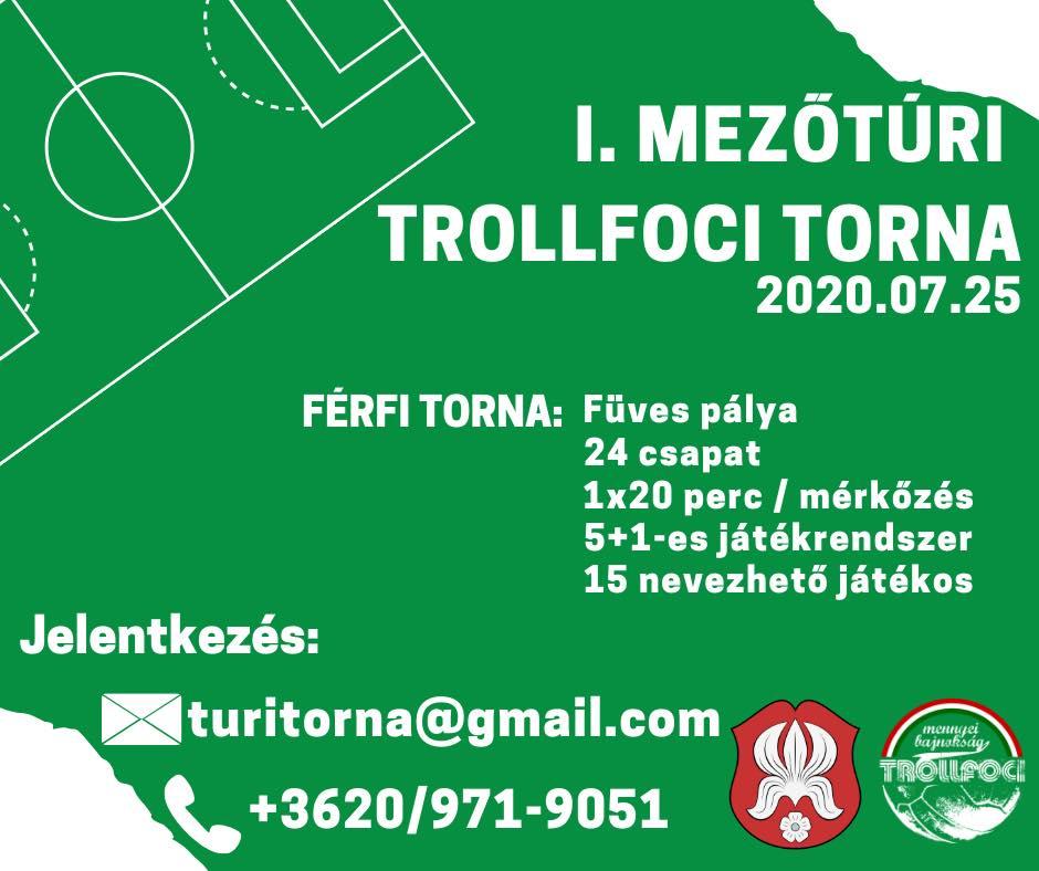 I. Mezőtúri Trollfoci Torna @ Mezőtúr | Mezőtúr | Magyarország