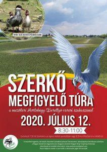 Szerkő megfigyelő túra @ A mezőtúri Hortobágy-Berettyó városi szakasza | Mezőtúr | Magyarország