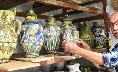 Gonda István - Egész életművét bemutatja a mezőtúri fazekasmester
