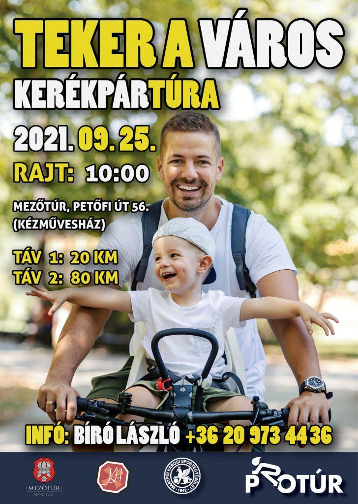 TEKER A VÁROS - Kerékpártúra @ Mezőtúr, Kézművesház   Mezőtúr   Magyarország